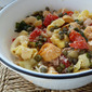 Tortellini Salad With Tuna And Roasted Red Peppers