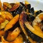 Roasted Squash with Lemon Tahini Sauce