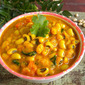 Chavli Amti / Black Eyed Peas Curry