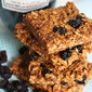 Honey Oat Granola Bars with Dried Blueberries . . .