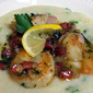 Shrimp with Green Onion Polenta