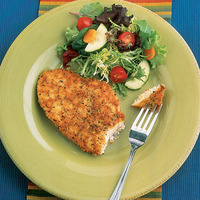 Chicken Cutlets with Mozzerella and Roasted Red Peppers
