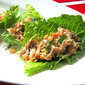 Super Bowl Snacks: Asian Chicken Lettuce Wraps