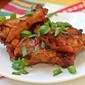 Asian Inspired Hoisin and Scallion Chicken Wings