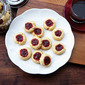 Shortbread Raspberry Cookies