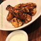 Football Food: Grilled Wings with Tarragon Ranch