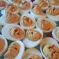 Siriacha Deviled Eggs