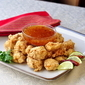 Double Crunch Popcorn Shrimp with Chili Lime Dipping Sauce