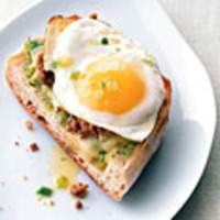 Open Face Breakfast Sandwich