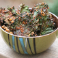 """Cheezy"" Vegan Kale Chips"