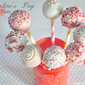 Valentine's Day Cake Pops {Recipe & Tutorial}