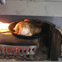Fireplace Roasted Chicken