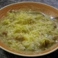 Potato, Broccoli, Ham Soup - Apple Cranberry Crisp