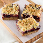 Chocolate Cherry Crumb Bars