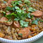 Lentil Stew with Chorizo