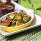 Blood Orange Brussels Sprouts