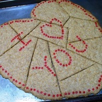 Giant Valentine Heart Cookie (It's a Puzzle Too!)