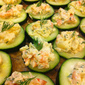 Cucumber Pineapple Shrimp