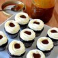 Chocolate Cupcakes with Vanilla Bean Frosting & Caramel