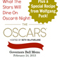 Official Oscar Party Menu with Recipe from Wolfgang Puck!