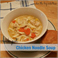 Inspired by Pinterest ~ Crockpot Chicken Noodle Soup