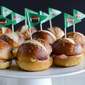 Ham and Cheese Soft Pretzel Sliders