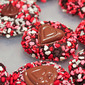 Valentine's Day Sprinkles Cookies in Vanilla and Chocolate