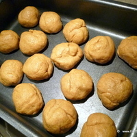 Sweet Potato Rustic bread buns