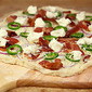 Bacon, Jalapeno, Red Onion and Cream Cheese Makes the Best Pizza!