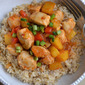 Sweet and Sour Chicken with Coconut Rice