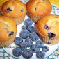 Blueberry Muffins with a Cake Mix Recipe