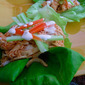 Crockpot Buffalo Chicken Lettuce Wraps