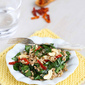 Farro Salad Recipe with Sun-Dried Tomatoes, Spinach & Cashews