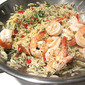 Ina's Roasted Shrimp on Orzo