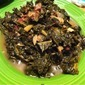 Apple Cider Braised Kale
