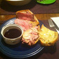 Healthy-esque French Dip Sandwich