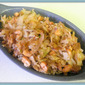 Nutty Cabbage & Shallot Stir Fry - Operation Clean-Up
