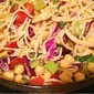 Gluten Free Spaghetti Vegetable Salad