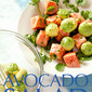 Mustard Marinated Wild Alaskan Salmon and Avocado Salad with Watercress