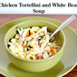 Chicken Tortellini and White Bean Soup