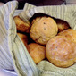 Honey, Wheat and Rosemary Dinner Rolls