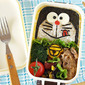 How to Make Doraemon Bento Lunch Box - Video Recipe