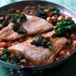 Ginger Fish with Chickpeas