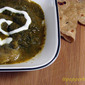 Aloo Palak/ Potato Spinach Healthy Curry