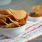 Easy Baked Tortilla Chips Recipe / Baked Corn Tortilla Chip Recipe