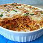 Pizza Baked Spaghetti #LMDConnector