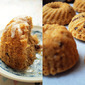 Banana & Coconut Mini Bundt Cakes