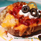 Guinness Chili Loaded Baked Potato