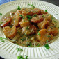 Gulf Coast Garlic Shrimp Linguine
