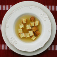 Zuppa con Pallotte di Pane (Soup with Bread Balls) Recipe